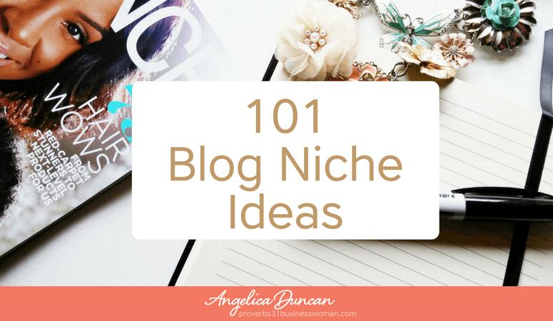 101 Blog Niche Ideas