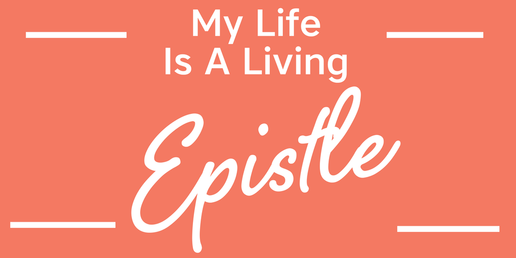 My life is a living Epistle for Christ - Daily Confessions and Affirmations For Christians #christianaffirmations #christianconfessions #christianquotes #inspirationalquotes#motivationalquotes #affirmations #confessions #speaklife #encouragement #inspiration #hope #faith #bible #scripture #angelicaduncan #silkoversteel #sos