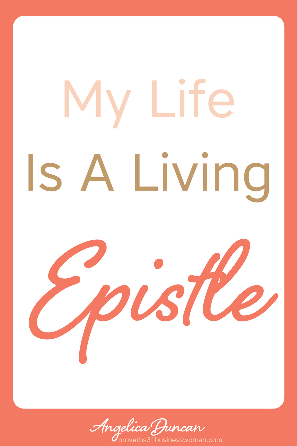 My life is a living Epistle for Christ - Daily Confessions and Affirmations For Christians #christianaffirmations #christianconfessions #christiandeclarations #biblicalaffirmations #biblicalconfessions #biblicaldeclarations #propheticaffirmations #propheticdeclarations #propheticconfessions #christianquotes #inspirationalquotes#motivationalquotes #affirmations #confessions #speaklife #encouragement #inspiration #hope #faith #bible #scripture #angelicaduncan #silkoversteel #sos