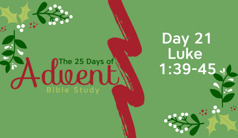 25 Days of Advent Bible Study Series {Day 21}