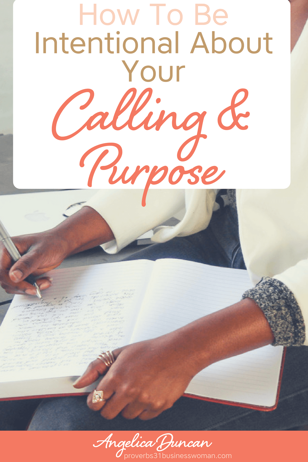 God wants you to be intentional about pursuing your calling and purpose in life! Let me show 5 simple, yet powerful action-steps to make it happen! #calling #purpose #christianwomenleaders #womenleaders #faith #chrisitanblogger #proverbs31woman #proverbs31businesswoman #proverbs31enrepreneur #p31 #silkoversteel #sos #angelicaduncan